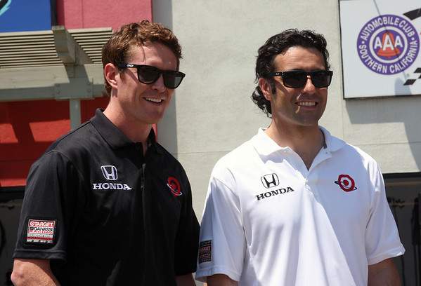 Scott Dixon & Dario Franchitti