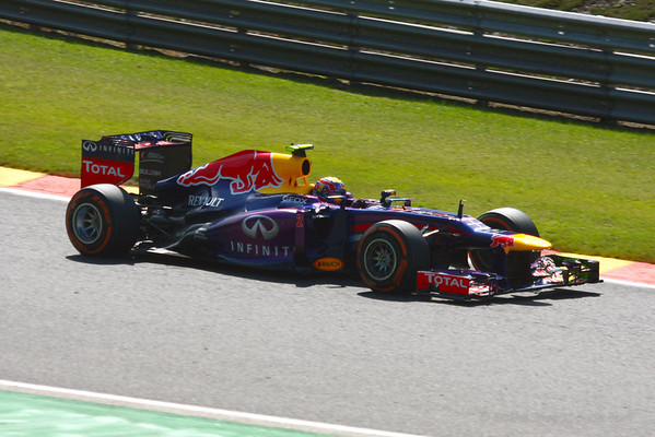 Mark Webber- 2013 Belgian Grand Prix